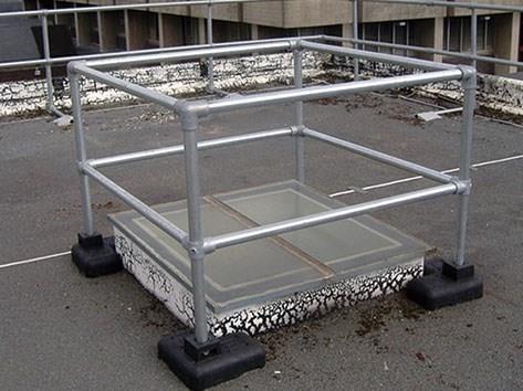天窗隔离防护栏