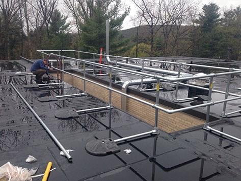 自立式屋面护栏